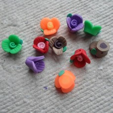 Polymer Clay ~ Little flowers