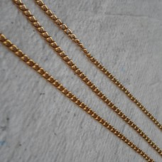 Continuous Chain ~ Gold Plate ~ Curb
