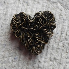 Antique Bronze ~ Heart