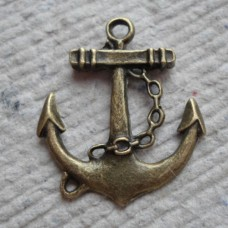Antique Bronze Charm ~ Anchor
