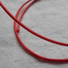 Cord ~ Mixed Fibres ~ Red