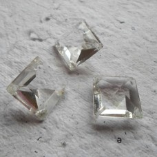 Faceted Vintage Lead Crystal Square