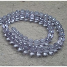Glass beads ~ Round Violet