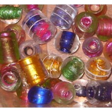 Handmade Glass beads with large hole