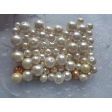 Mix Bag of Glass Pearls