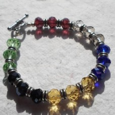 Bracelet ~ Faceted Multi