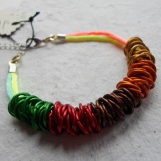 Bracelet ~ Jumprings and Cord