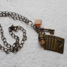 Necklace ~  Antique Bronze Charm