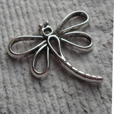 Antique Silver ~ Dragonfly