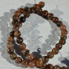 Andalusite Round Beads