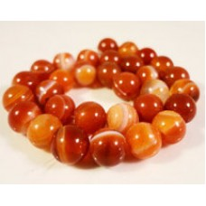 Banded Agate Round Beads