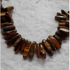 Drop chips ~ Tigers Eye