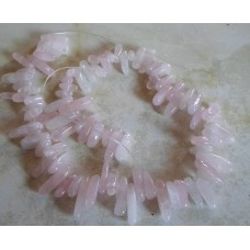 Drop Chips ~ Rose Quartz