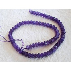 Amethyst Faceted Abacus