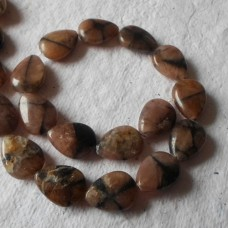 Andalusite Tear drops Beads