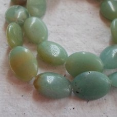 Chinese Amazonite Oval Beads