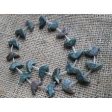Indian Agate Bird Beads