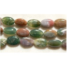 Indian Agate Oval Beads