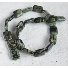Kambaba Jasper Rectangle Beads