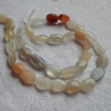 Multi Moonstone Oval Beads