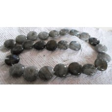 Labradorite Disc Beads