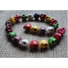 Skulls ~  Assorted Colours