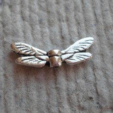 Silver Charms ~ Dragonfly Wings